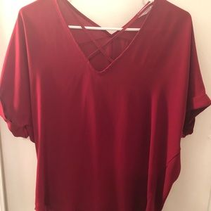 Red shirt from Francesca's